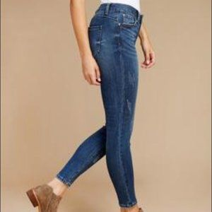 Dex Super Skinny Ankle Cut Jeans Stormy Blue 28